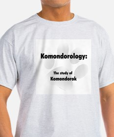 Komondorology Ash Grey T-Shirt