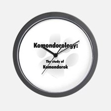 Komondorology Wall Clock
