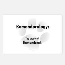Komondorology Postcards (Package of 8)