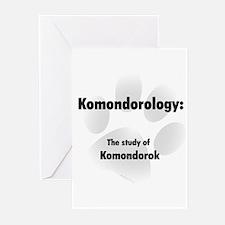 Komondorology Greeting Cards (Pk of 10)
