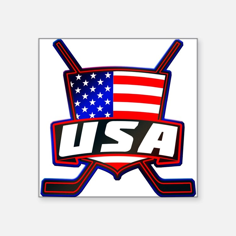 American Hockey Shield Logo Sticker