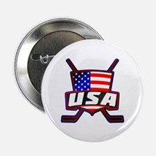 "American Hockey Shield Logo 2.25"" Button"