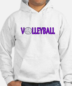 Funny Volleyball hitter Hoodie