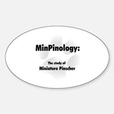 MinPinology Oval Decal
