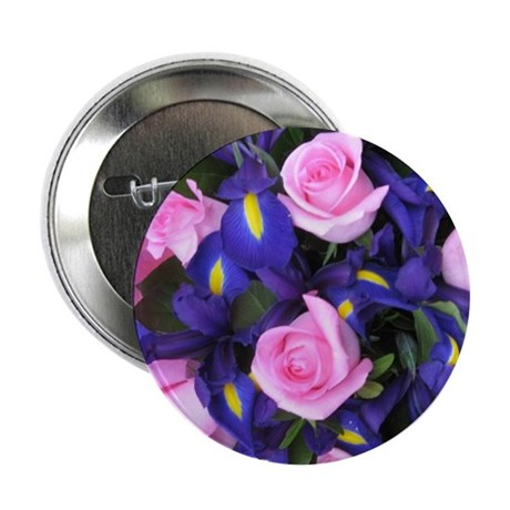 """Pink and Purple 2.25"""" Button"""