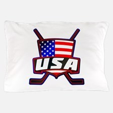 American Hockey Shield Logo Pillow Case