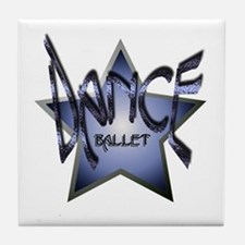 Dance Star - Ballet Tile Coaster