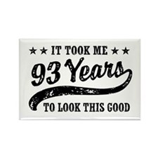 Funny 93rd Birthday Rectangle Magnet