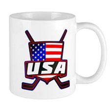 American Hockey Shield Logo Mug