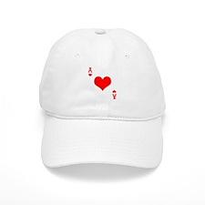 Ace of Hearts Baseball Cap