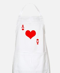 Ace of Hearts BBQ Apron