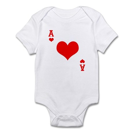 Ace of Hearts Infant Bodysuit