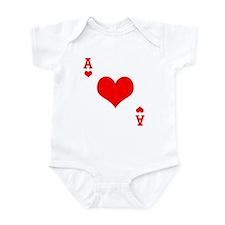 Ace of Hearts Onesie