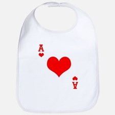 Ace of Hearts Bib