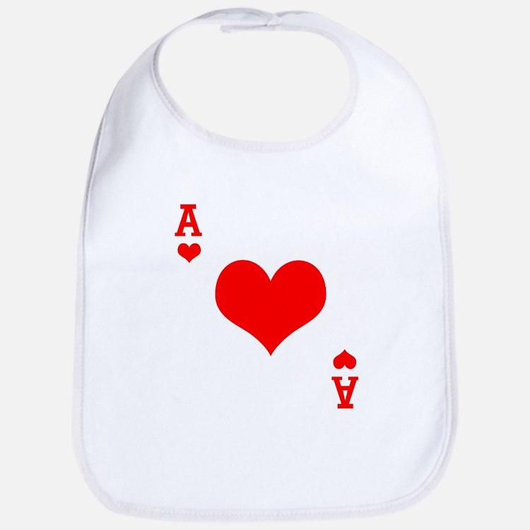 Ace of Hearts Bib