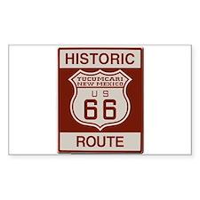 Tucumcari Route 66 Decal