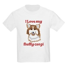 I love my fluffy corgi T-Shirt