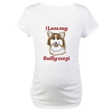 I love my fluffy corgi Shirt
