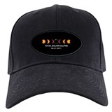2017 solar eclipse baseball Baseball Cap with Patch