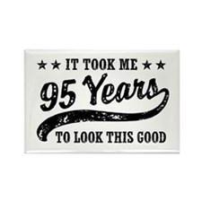 Funny 95th Birthday Rectangle Magnet