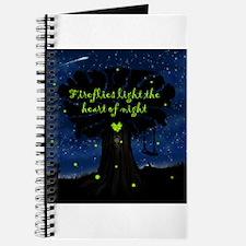 Fireflies light the heart of night Journal