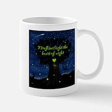 Fireflies light the heart of night Mug