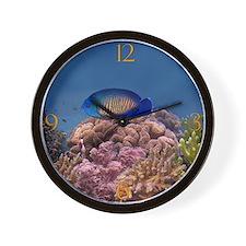Coral Beauty Wall Clock