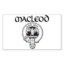 MacLeod Rectangle Decal