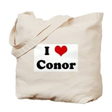 I Love Conor Tote Bag
