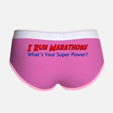 I Run Marathons Women's Boy Brief