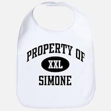 Property of Simone Bib