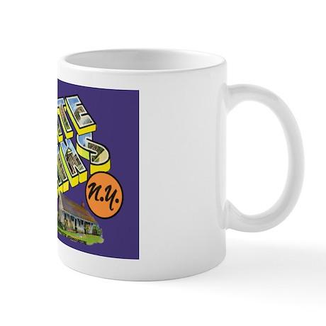 White Plains New York Greetings Mug