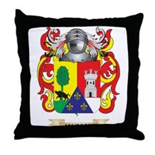 Jauregui Coat of Arms (Family Crest) Throw Pillow