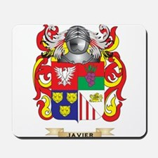 Javier Coat of Arms (Family Crest) Mousepad