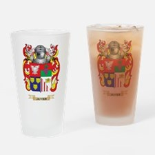 Javier Coat of Arms (Family Crest) Drinking Glass