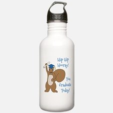 You Graduate Today Water Bottle