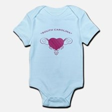 South Carolina State (Heart) Gifts Infant Bodysuit