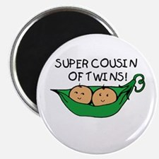 Super Cousin of Twins Magnet
