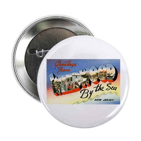 Wildwood New Jersey Greetings Button