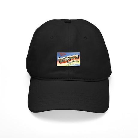 Wildwood New Jersey Greetings Black Cap