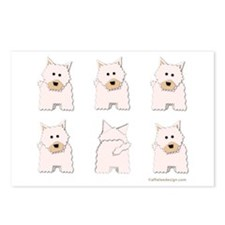 One of These Westies! Postcards (Package of 8)