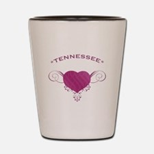 Tennessee State (Heart) Gifts Shot Glass