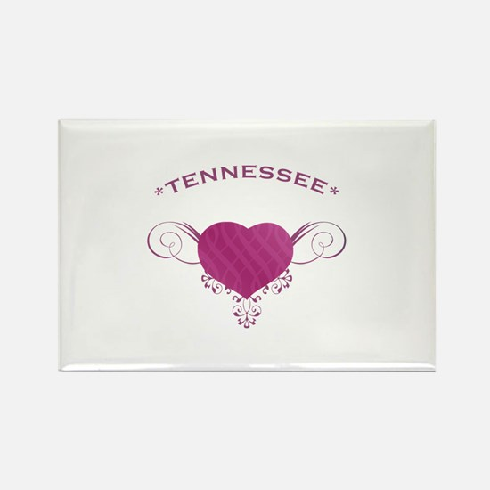 Tennessee State (Heart) Gifts Rectangle Magnet