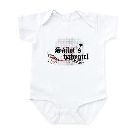 Sailor's baby Girl Infant Bodysuit