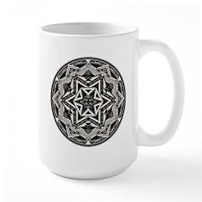Between Worlds Large Mandala Mug