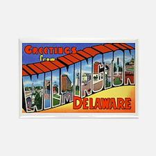 Wilmington Delaware Greetings Rectangle Magnet