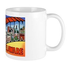 Wilmington Delaware Greetings Coffee Mug
