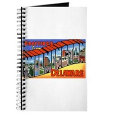 Wilmington Delaware Greetings Journal