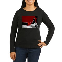robot in the snow T-Shirt