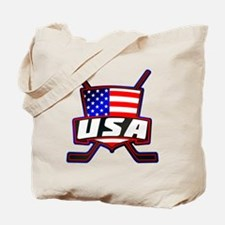 American Hockey Shield Logo Tote Bag